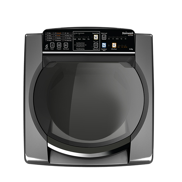 WHIRLPOOL 6.2Kg Top  Loading Washing Machine with 6TH SENSE UltraClean Technology (SWULTRA6.2(SC)GREY)