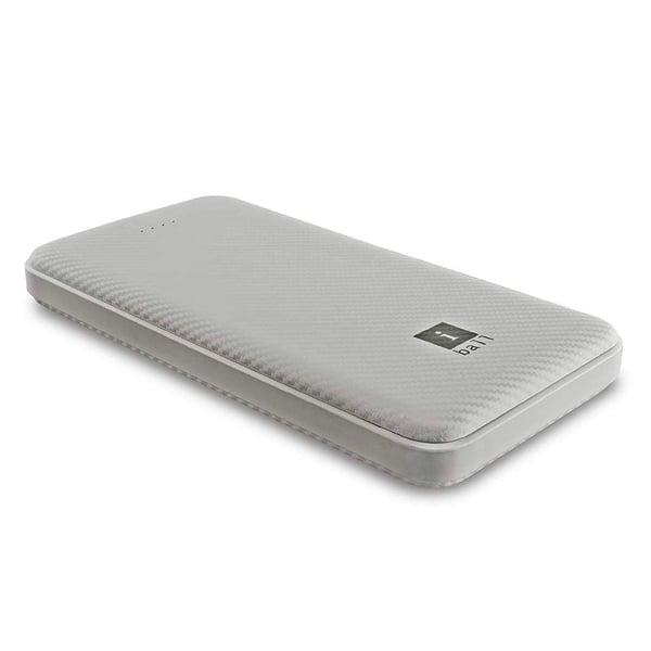 iBall 10000 mAh Powerbank (IB-10000LP), Dual USB Output, White (IBALLPBIB10000LP)