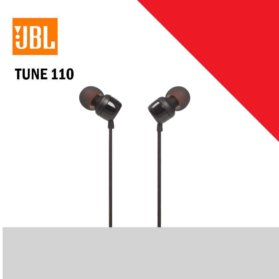 JBL TUNE 110 Earphone with mic (JBLWHTUNE110)
