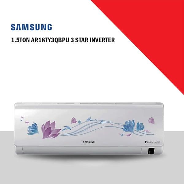 Samsung 1.5 Ton 3 Star Inverter AC (1.5TAR18TY3QBPU3S)