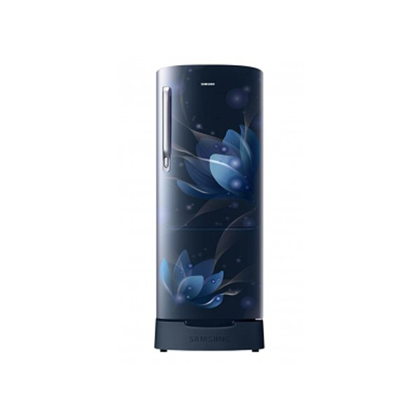 Samsung 192L 3 Star Direct-Cool Single Door Refrigerator (HL, Saffron Blue) (RR20A181BU8)
