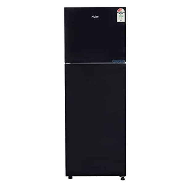 Haier 258 L Frost Free Double Door 3 Star (2020) Convertible Refrigerator  (Brushline Silver ) (HRF2783BKSE)