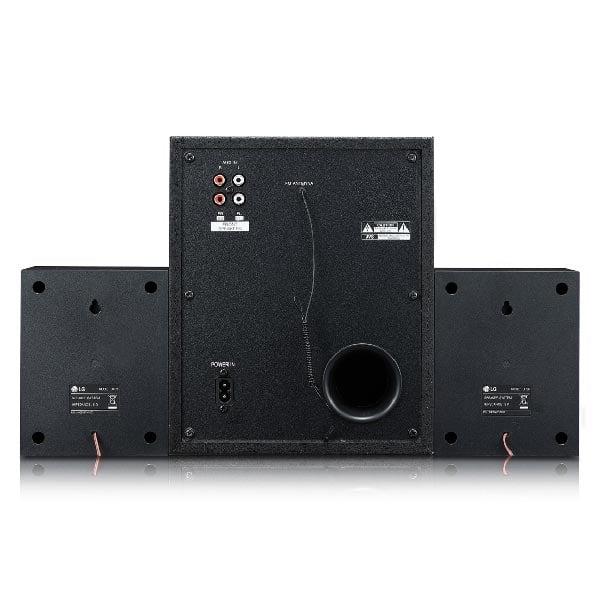 LG LK72B XBOOM 40 W Bluetooth Home Theatre  (Black, 2.1 Channel) (LK72B)