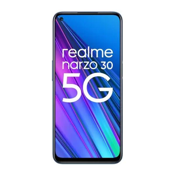 Realme Narzo 30 5G (Racing Blue, 64 GB)  (4 GB RAM) (REMNARZO305G464RBLUE)