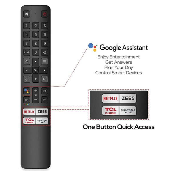 TCL 65-inch Ultra HD 4K Smart LED TV (TCL65P615)