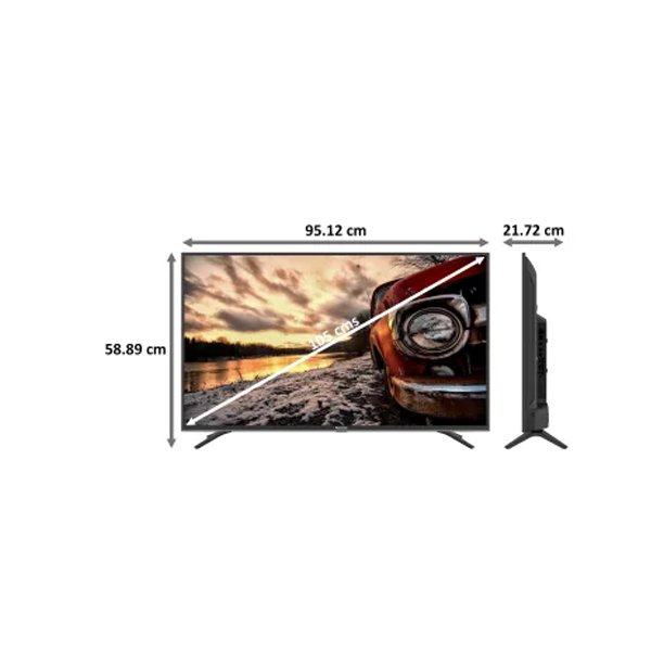 Panasonic Ultra HD (4K) Smart Android LED 43 inch(108 cm) (2021 Model) (TH43JX660DX)
