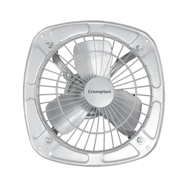 CROMPTON Drift Air Plus 9 inch 3 Blade Exhaust Fan (Silver) (9DRIFTAIRPLUS)