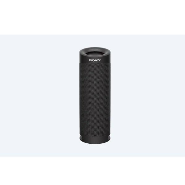 Sony SRS-XB23 Wireless Extra Bass Bluetooth Speaker with 12 Hours Battery Life, Party Connect, Waterproof, Dustproof, Rustproof, Speaker with Mic, Loud Audio for Phone Calls (Black) (SONYEBPBTSRSXB23)