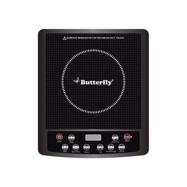 Butterfly JET HOB Induction Cooktop  (Black, Touch Panel) (INDCOOKJET)