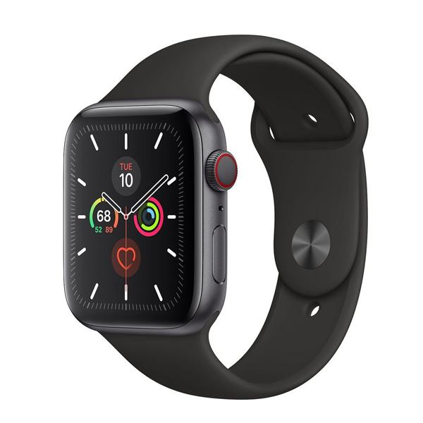 Apple Watch series 5 GPS +Cellular 44 mm Black Sport band (IPHONEWATCHS5GPSPLUS)