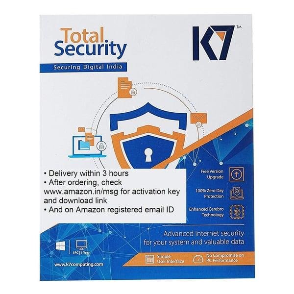 K7 Total Security 1.0 User 1 Year  (CD/DVD) (K7TOTALSSUSER)