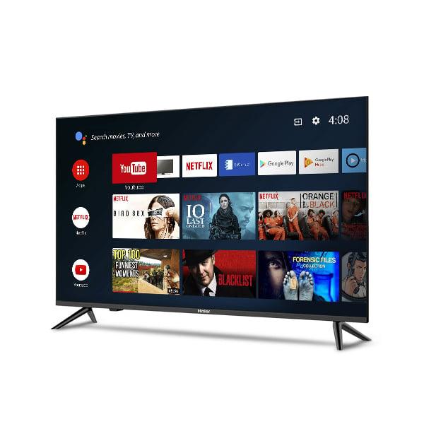 Haier 109cm (43 inch) Ultra HD LED Smart Android TV (LE43K6600UGA)
