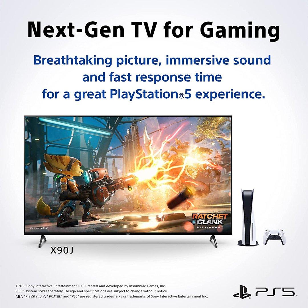 Sony 55 inch Class HDR 4K UHD Smart LED TV (XR55X90J)