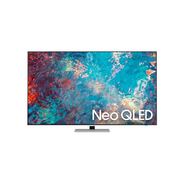 Samsung 8 Series 163cm (65 Inch) Ultra HD 4K QLED Smart TV (Quantum Matrix Technology, Eclipse Silver) (QA65QN85A)