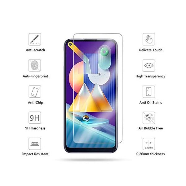 Resolute Tempered Glass Guard for Samsung Galaxy A21s (SAMA21SPRETEMP)