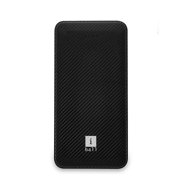 iBall 10000 mAh Powerbank (IB-10000LP), Dual USB Output, Black - (IBALLPBIB10000LPS)