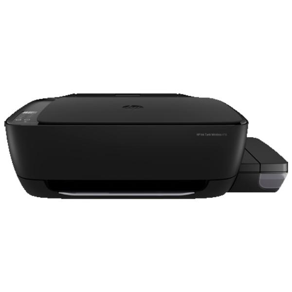 HP Ink Tank Wireless 416 Multi-function Color Printer  (Black, Ink Bottle) (HPINKJET416WL)