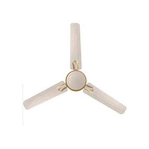 Orient Summer Chill Fan -White / Brown / P.Ivory (48SUMMERCHILLWH-BR-P)