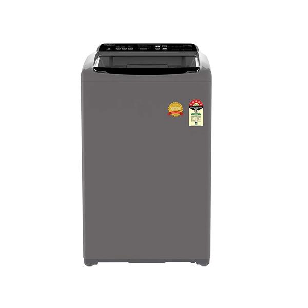 Whirlpool Whitemagic Premier 7 Kg GenX Fully Automatic Top Load Washing Machine (Hard Water Wash, Grey, 5 Star )  (WMPRMGENX7.0GREY10YM)