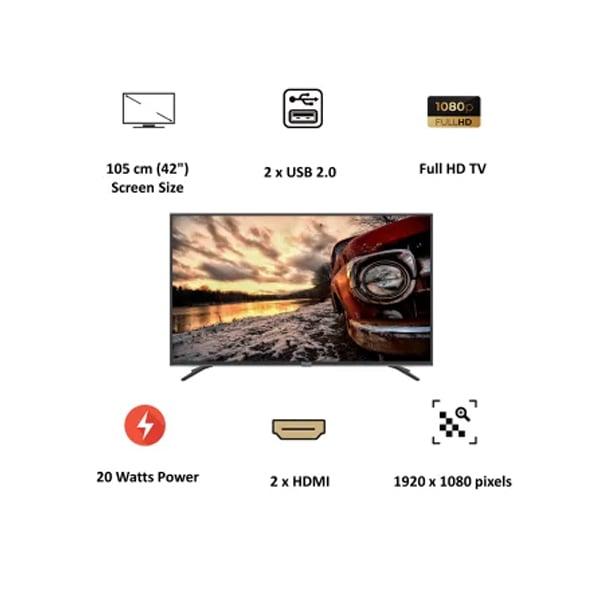 Panasonic Viera 105cm (42 Inch) Full HD LED Android Smart TV (Dolby Digital,Black) (TH42JS660DX)