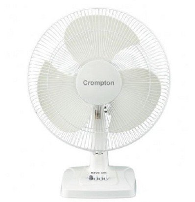 CROMPTON HS WHIRLWIND GALE TF - BLACK Table Fan (HSWWGALETF-BK-RD-WH)
