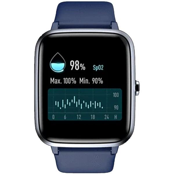 Noise ColorFit Pro 2 Smartwatch  (Blue Strap, Regular) (NOISEWCFITPRO2OXY)