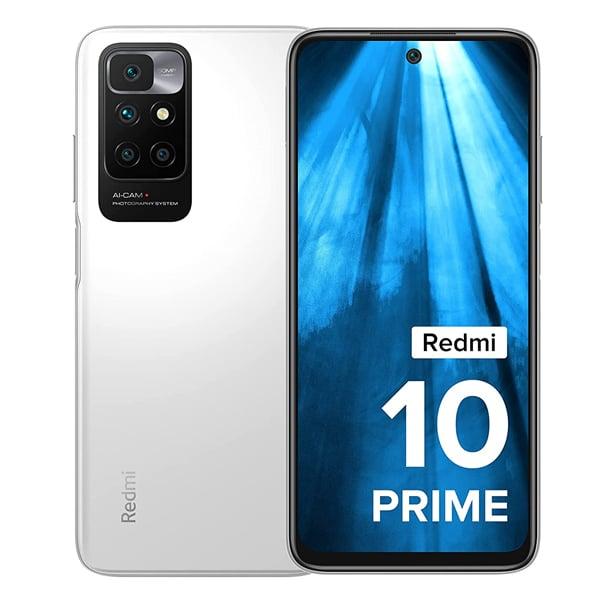 REDMI 10 Prime (Astral White, 128 GB)  (6 GB RAM) (R10PRIME6128ASTRAWHT)