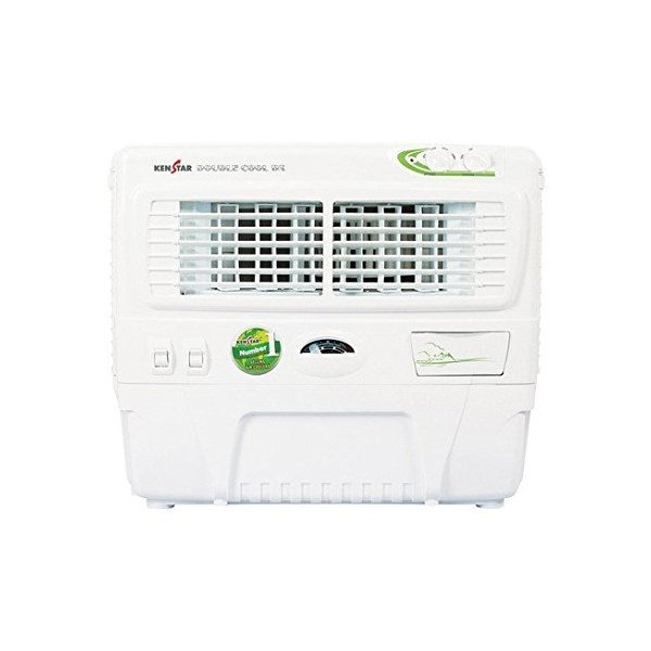 Kenstar Double Cool Dx 55-Litre Air Cooler with Trolley (White) (55LDOUBLECOOLDXWC)