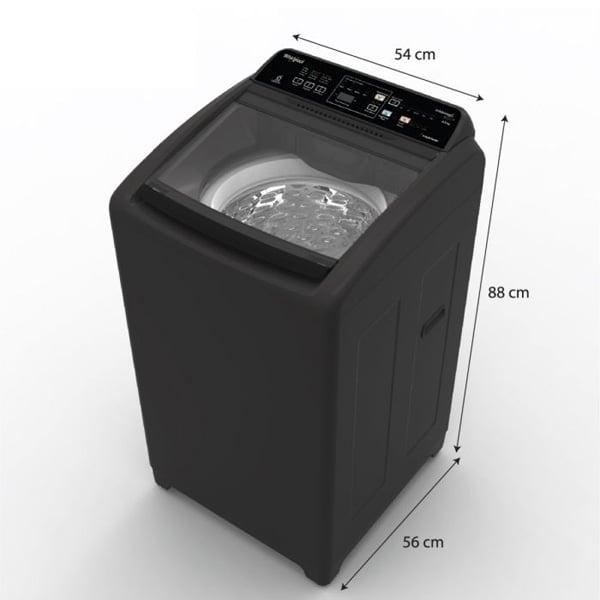 Whirlpool 6.5 kg Fully Automatic Top Loading Washing Machine (WMELITEPLUS6.5GREY)