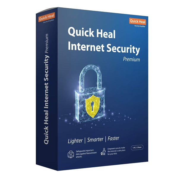 Quick Heal Internet Security Premium - 1 Users (DVD) (QUICKHEALAVINTSECTSU)