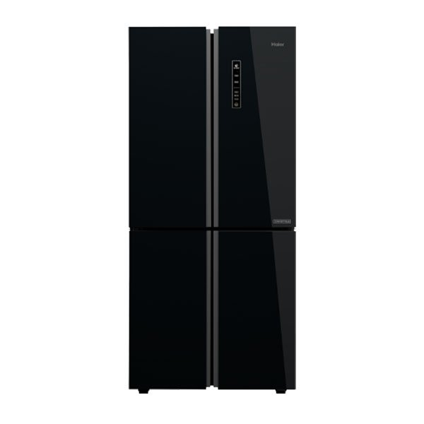Haier 531 L Inverter Frost-Free Side-by-Side Refrigerator (Black,Convertible) (HRB550KG)