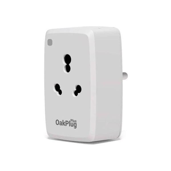 Oakter Oak Plug Plus Wi-Fi Smart Plug, White 16 Amp (OAKPLUGPLUSWIFI)