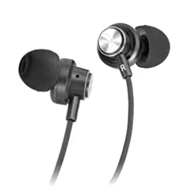 Hapi Pola 3.5mm Jack in-Ear Wired Thunder Headphones with Mic Bluetooth Headset  (Black, In the Ear) (HAPIPOLAWHPBLAZE)