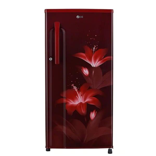 LG 188 Litres Single Door 3 Star Refrigerator (GLB191KRGX)