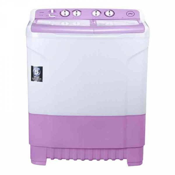 Godrej 8 kg Semi Automatic Top Load White, Purple (WSEDGE805.0TB3MLAVDR)