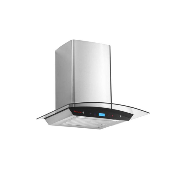 Butterfly Reflection Auto Clean Wall Mounted Chimney  (Silver 1200 m3/h) - REFLECTIONPLUS60EC