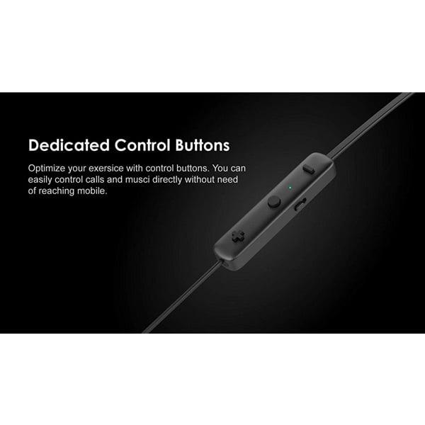 Oraimo Bluetooth Headset with Mic  (Black, In the Ear) (ORAIMOEB-E55DFEATHER)