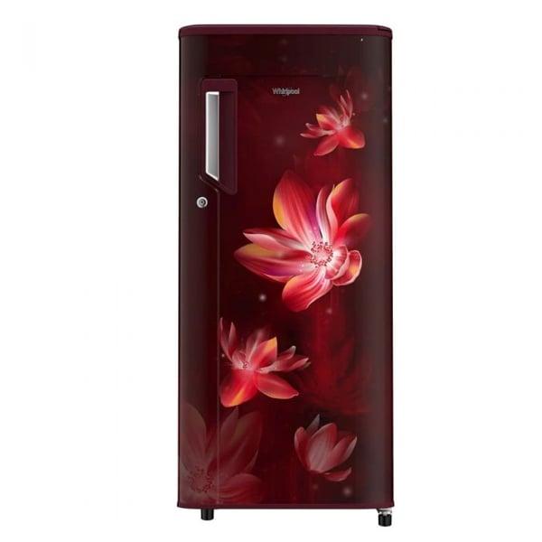 Whirlpool 200 L Direct Cool Single Door 3 Star Refrigerator  (Wine Flower Rain) (215IMPCPRM3SWINEFLRA)