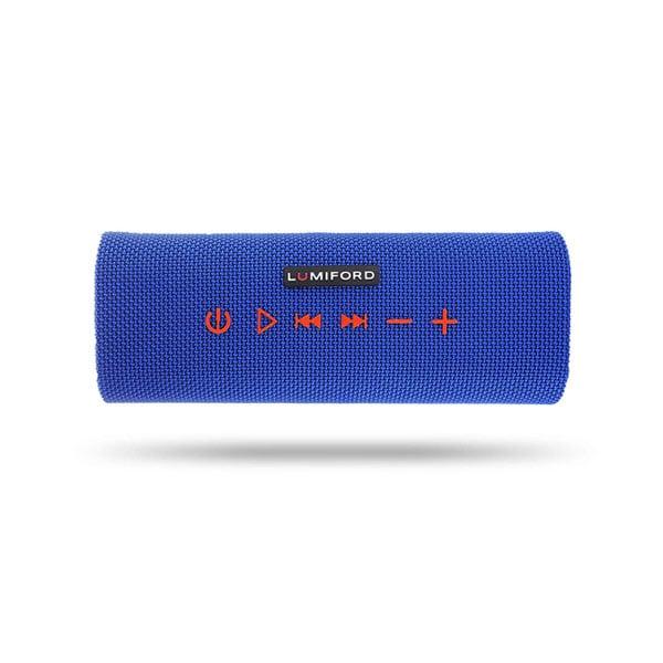 lumiford Stereo Blue Log 10 W Bluetooth Speaker (Blue, Stereo Channel) (LUMIBTSKBLUELOG)