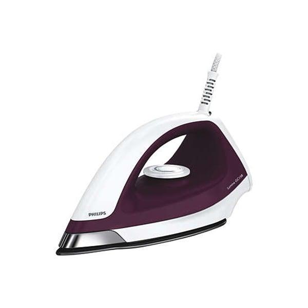 Philips 1100-Watt Dry Iron -Purple (GC158/02)