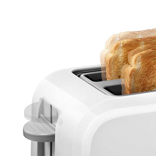 Bosch 980 W Pop Up Toaster  (White, TAT3A011 )