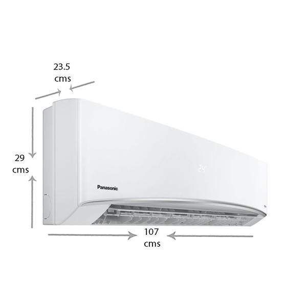 Panasonic 1.5 Ton 3 Star Inverter Split AC (1.5TKU18XKYF13S)
